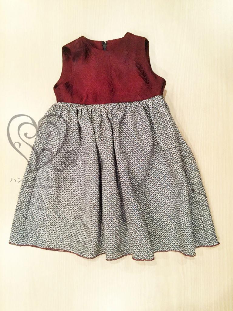 着物リメイク 子供服