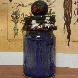【ハンドメイド無料レシピ】ハロウィンのディスプレイ-魔女の薬瓶の作り方、二種類\