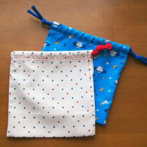【ハンドメイド無料レシピ】簡単マチのコップ入れ袋の作り方\