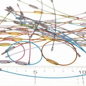 【ハンドメイドの基礎知識】ワイヤーキーリングの種類と選び方・使い方について