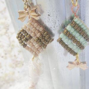 ビーズ編みレシピ♪クッキーモチーフを作ろう!編み図付き編み方【ハンドメイド無料レシピ】