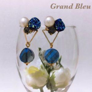 【素敵な作家さんシリーズ】Grand Bleuさん★「人とかぶらない 個性的で独創的なOnly Oneデザイン」をコンセプトに作品作りをしています!\