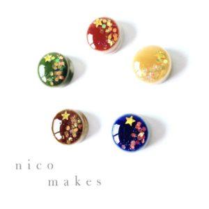 【素敵な作家さんシリーズ】nico makesさん★『にこにこ』が溢れるアクセサリー。をコンセプトに作品作りをしています!