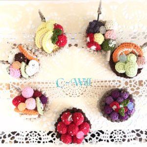 【素敵な作家さんシリーズ】chiicoさん★かぎ針編みを使って「可愛い!!美味しそう!!」をテーマに作品作りをしています!\