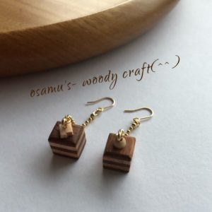【素敵な作家さんシリーズ】小さな木の木工作家 osamu's- woody craftさん★【ものがたりを感じるアクセサリー】をコンセプトに作品作りをしています!\