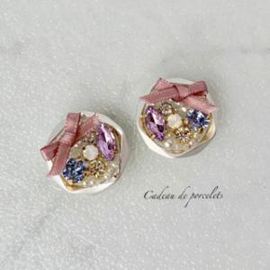 【素敵な作家さんシリーズ】cadeau de  porceletsさん★大人の可愛らしさと上品さをコンセプトに作品作りをしています!\