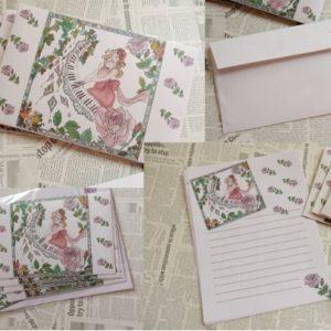 【素敵な作家さんシリーズ】masae☆nocturneさん★オリジナルイラストを使い、ペーパー、アクセアリー、布小物などの作品作りをしています!