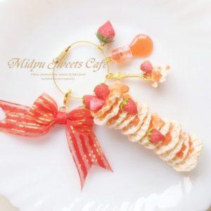 【素敵な作家さんシリーズ】Midyu Sweets Café+さん★゛見てるだけでワクワクする食べられない山積みの食べ物゛をコンセプトに作品作りをしています!\