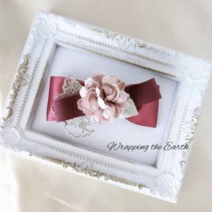 【素敵な作家さんシリーズ】Wrapping the Earthさん★リボンと造花を使った大人ガーリーな作品作りをしています!