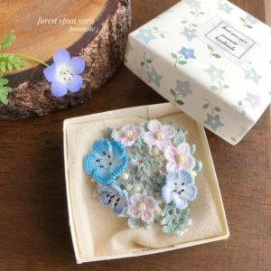 【素敵な作家さんシリーズ】レース編み作家 poconote~ぽこのて~さん☆「季節移りゆく花々を楽しんでいただければ」