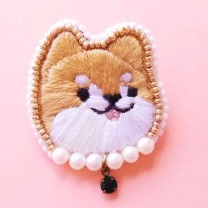 【素敵な作家さんシリーズ】動物刺繍×ビーズ作家 pick nick / tomokaさん☆「ほっこり癒される動物たち、私の大好きを形に!」