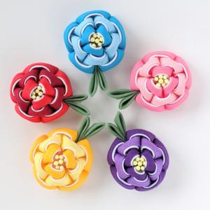 【素敵な作家さんシリーズ】つまみ細工作家 りんご堂さん☆「お花の可愛らしさを、つまみ細工に込められたら」\
