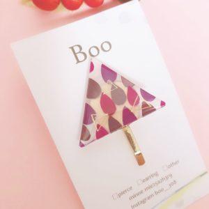 【素敵な作家さんシリーズ】プラバン×レジン作家 Booさん☆「可愛いらしいアクセサリーを目指して」\